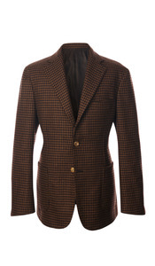 Vintage english Hound tooth  Sport coat