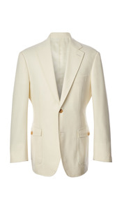 Baby powder color Italian luxurious 3Piece suit