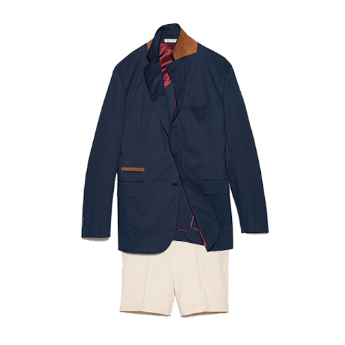 Lightweight extra comfort cotton Jacket and Tailored shorts